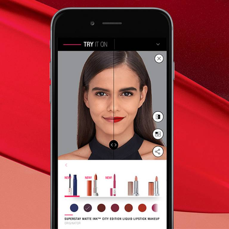 Makeup Virtual Try On Maybelline
