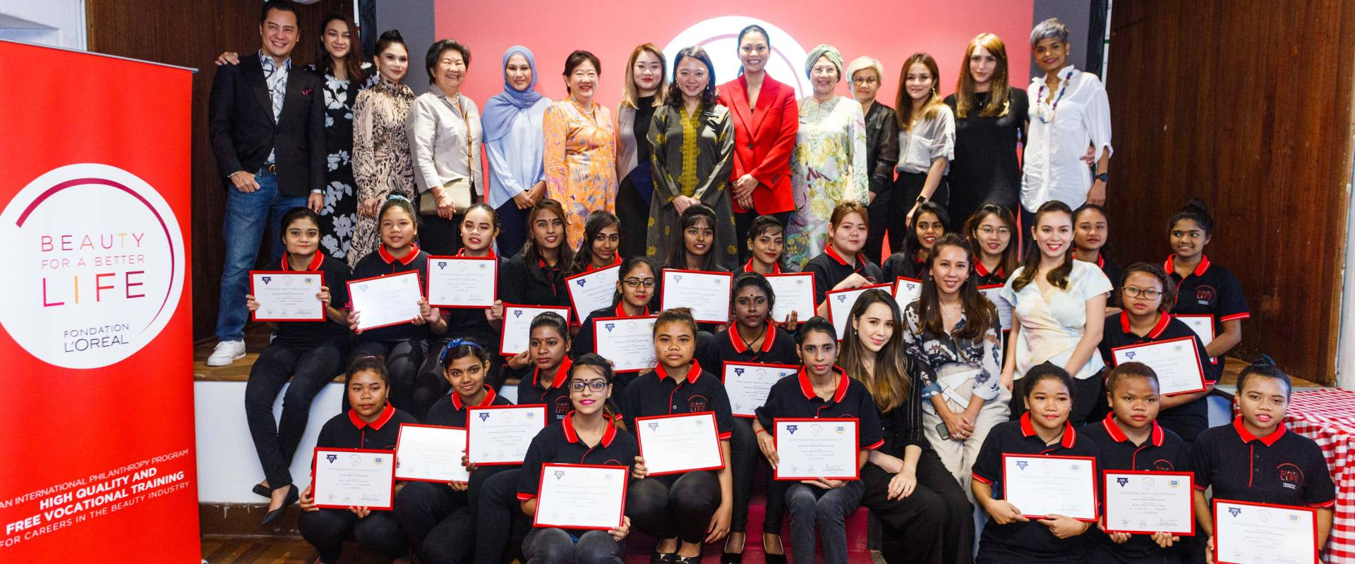 L'Oréal Malaysia helps young women build a better life through beauty