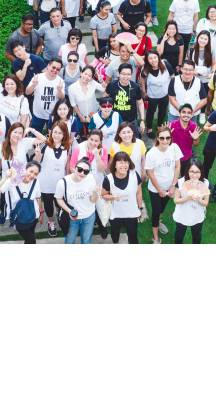 Over 200 employees came together to plant tree for L'Oréal Malaysia Citizens Day 2019