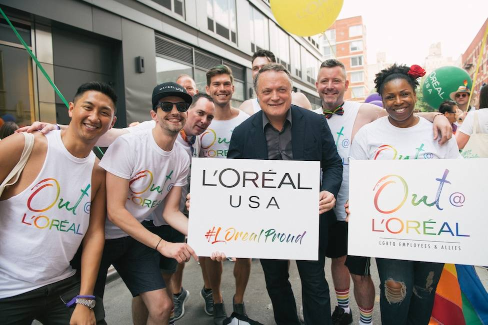 L'Oréal is proud to support the LGBTI community