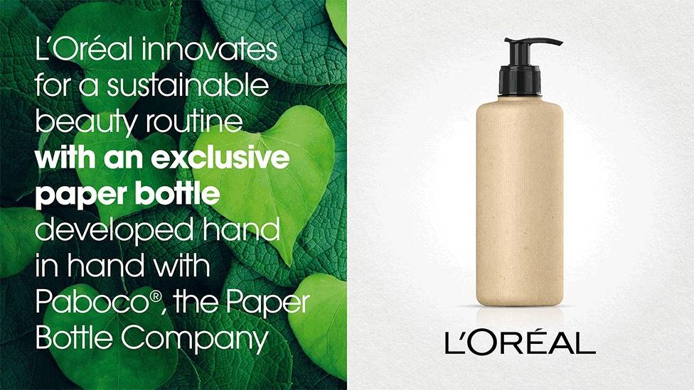 the paper bottle sustainable packaging
